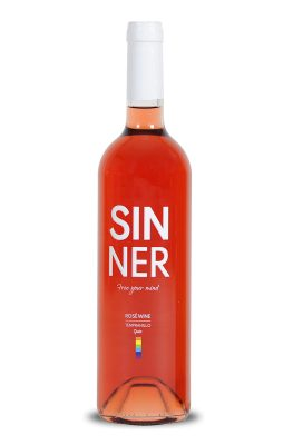 sinner wine rose inspired by the lgbt collective, gay wine lesbians gays pride